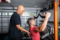 personal training with Dr. Reza Ghassemi