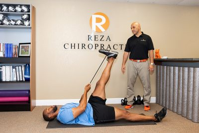 Corrective exercises at Reza Chiropractic